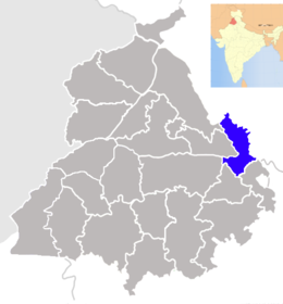 Punjab Rupnagar district map.png
