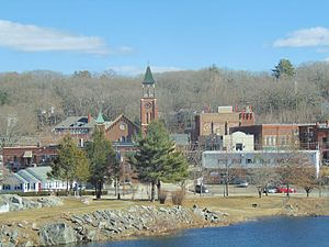Putnam, Connecticut - The center of Putnam