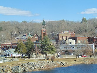 Putnam, Connecticut - The center of Putnam