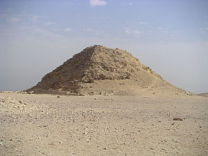 Bent Pyramid - The satellite pyramid