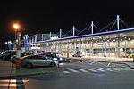 Pyrzowice Katowice Airport noc.JPG