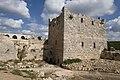 Qal'at Salah ed-Din aka Sahyun Castle tower left of donjon 4139.jpg