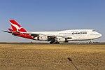 Qantas (VH-OJU) Boeing 747-438(ER) at Avalon Airport (3).jpg