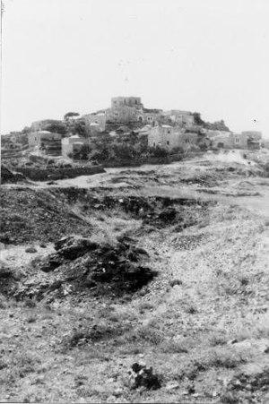 Al-Qastal, Jerusalem - Image: Qastal
