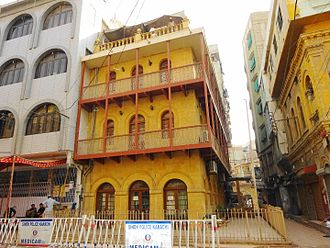 Wazir Mansion - Birth place of Quaid-e-Azam Muhammad Ali Jinnah
