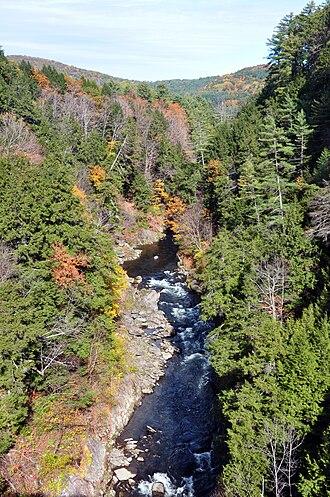 Quechee, Vermont - Quechee Gorge, Quechee State Park, fall 2009