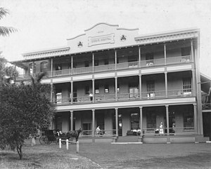 The Queen's Medical Center - The Queen's Hospital in 1905