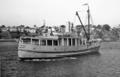 Queensland State Archives 2744 Brisbane pilot boat Captain Heath Brisbane River August 1946.png
