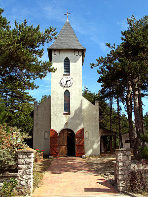 Quend - The chapel at Quend-Plage