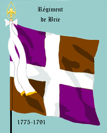 Image illustrative de l'article Régiment de Brie (1775)