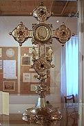 Rüti - Ortsmuseum - Klosterschatz - Kreuzpartikelmonstranz IMG 5114