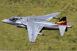 British Aerospace Harrier II - RAF Harrier GR9 in flight, 2010