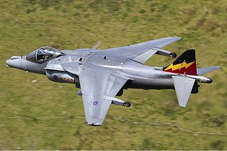 No. 4 Squadron RAF - A Harrier GR9 of No. 4 Squadron