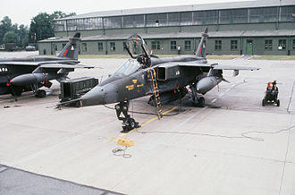 No. 2 Squadron RAF - No. 2 Sqn Jaguar GR.1s at RAF Wildenrath, Germany, in 1978.
