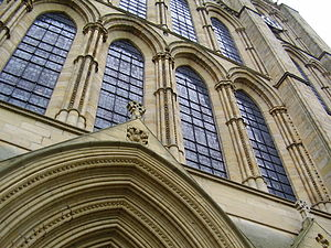 Dean of Ripon - The western façade of Ripon Cathedral