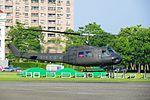 ROCA UH-1H 379 Taking off from ROCMA Ground 20140531.jpg