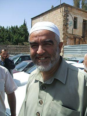 Islamic Movement in Israel - Raed Salah, the leader of the northern branch of the Islamic Movement in Israel
