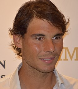 File photo of Rafael Nadal, 2015. Image: Tourism Victoria (flickr).