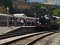 Railway enthusiasts at Kingswear - geograph.org.uk - 1507725.jpg