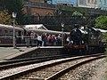 Railway enthusiasts at Kingswear - geograph.org.uk - 1507725.jpg