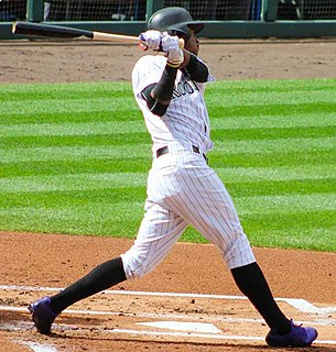 Raimel Tapia Dominican Republic baseball player