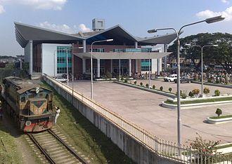 Rajshahi - Rajshahi central railway station