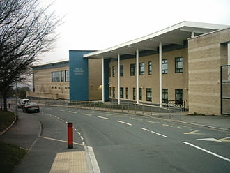 Holt Park - Ralph Thoresby School, following the rebuild.