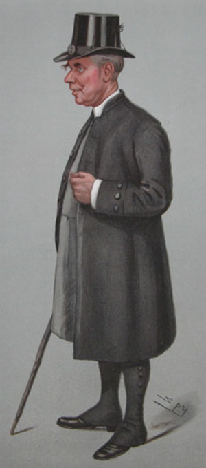 Randall Davidson - Davidson caricatured by Spy for Vanity Fair, 1901