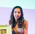 Raquel Vázquez Gala de premis Magnànim (cropped).jpg