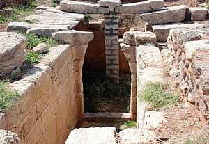 Ras Ibn Hani - A tomb at Ras Ibn Hani