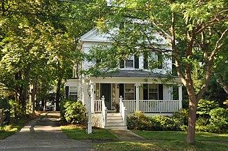 Edwin Bassett House - Image: Reading MA Edwin Bassett House