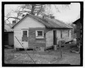 Rear and side view - 332 Daniel Street (House), 332 Daniel Street, La Grange, Troup County, GA HABS GA-2199-2.tif