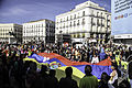 Recorrido bicicleta y concentración protesta caso Chevron en Madrid (11439308906).jpg