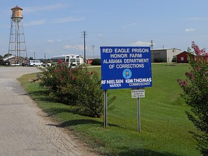Alabama Department of Corrections - Image: Red Eagle Prison Honor Farm Montgomery Alabama