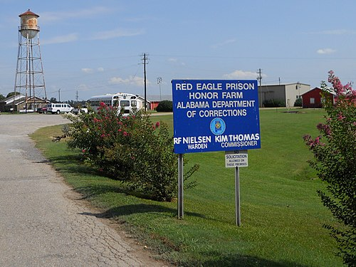 Red Eagle Prison Honor Farm Montgomery Alabama.JPG