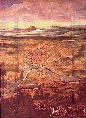 Montauban - Redition of Montauban, 21 August 1629. Château de Richelieu.