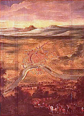 Montauban - Redition of Montauban, 21 August 1629. Château de Richelieu.
