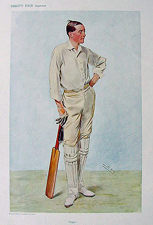 "Reggie Spooner - ""Reggie"" as caricatured by Spy (Leslie Ward) in Vanity Fair, July 1906"