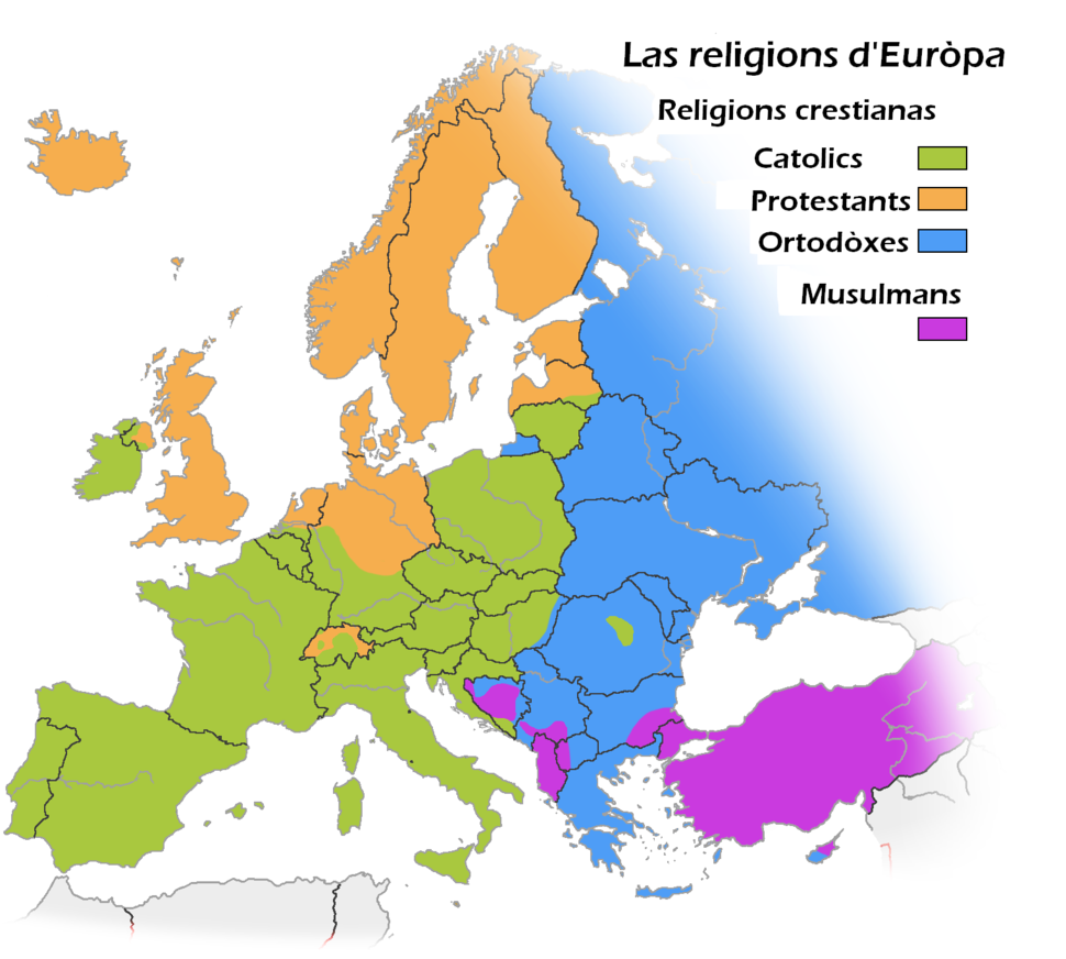 Religions d Europe oc