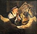 Rembrandt, la parabalo del ricco agricoltore (il cambiavalute), 1627, 03.JPG
