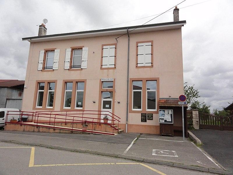 Remoncourt (M-et-M) mairie
