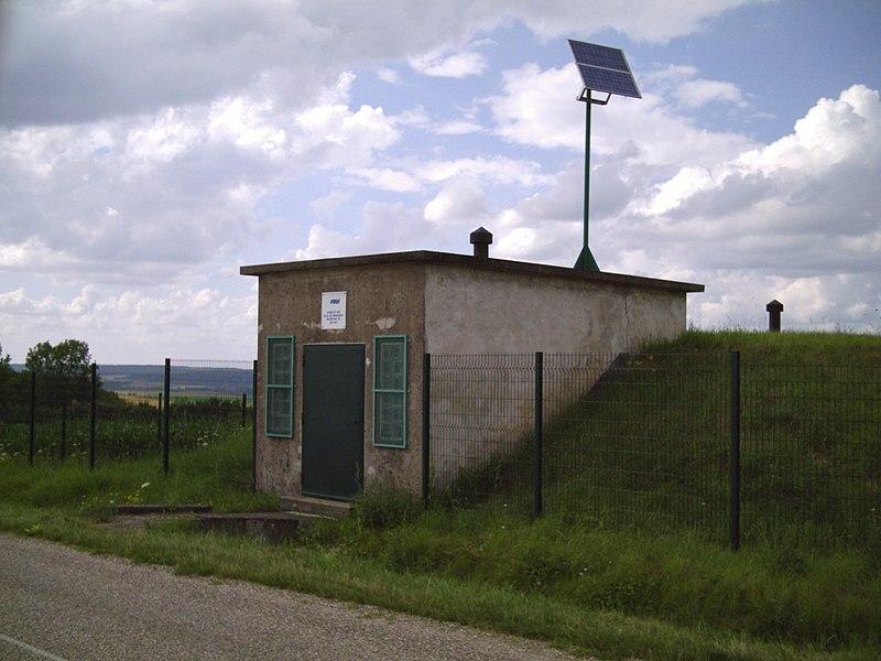 Reservoir d'eau à Juvrecourt (54)