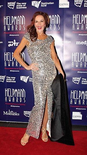 Rhonda Burchmore - Burchmore at the 2015 Helpmann Awards