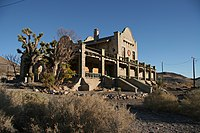 Rhyolite Train Station 20061124.JPG