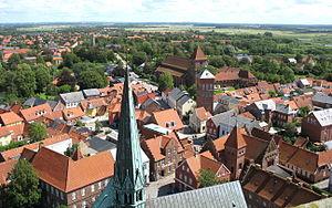 Blick vom Turm des Domes auf die Altstadt