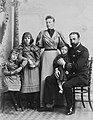 Richard Ellis, Family picture of Prince Louis of Battenberg, March 1895.jpg