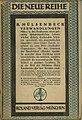 Richard Hülsenbeck - Verwandlungen. Novelle, 1918.jpg