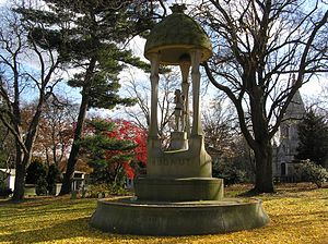 Richard Hudnut - The monument to Richard Hudnut in Woodlawn Cemetery, Bronx, NY