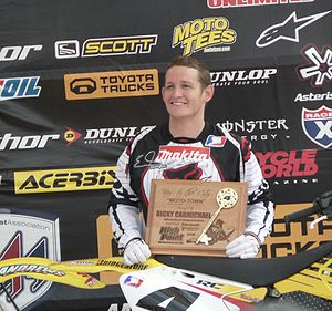 Ricky Carmichael - Carmichael in May 2007