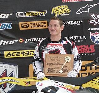 Ricky Carmichael American motocross racer and stock car racer